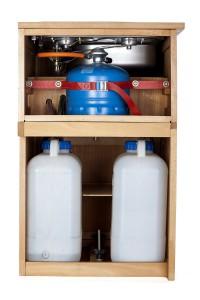 Gas-  Wasseranschluss